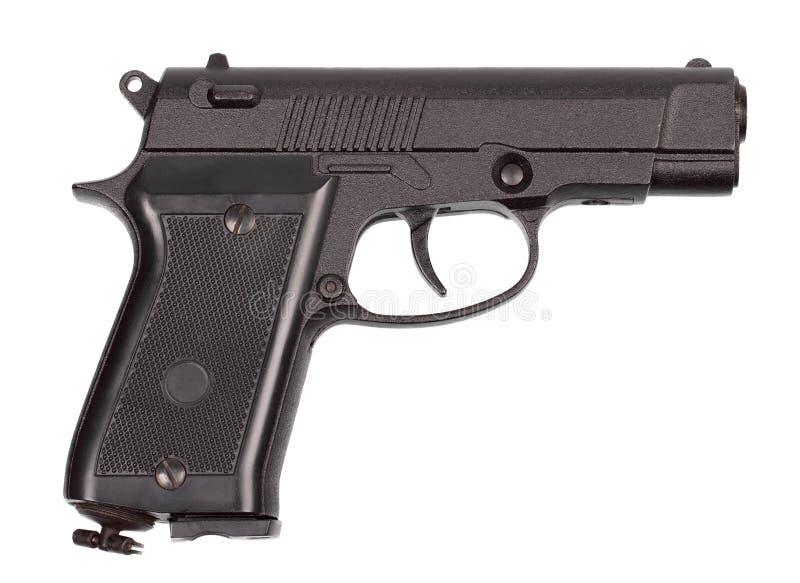 Μαύρο πνευματικό πιστόλι στοκ φωτογραφίες με δικαίωμα ελεύθερης χρήσης