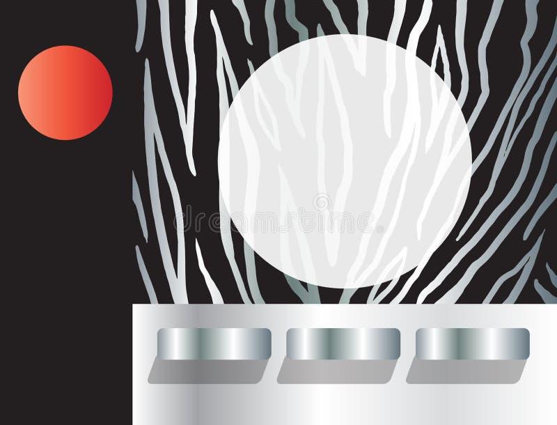 Μαύρο πρότυπο κάλυψης λωρίδων λευκώματος αποκομμάτων ελεύθερη απεικόνιση δικαιώματος