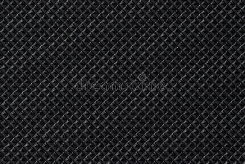 Μαύρο σκοτεινό υπόβαθρο δέρματος σύστασης δερμάτων στοκ φωτογραφίες