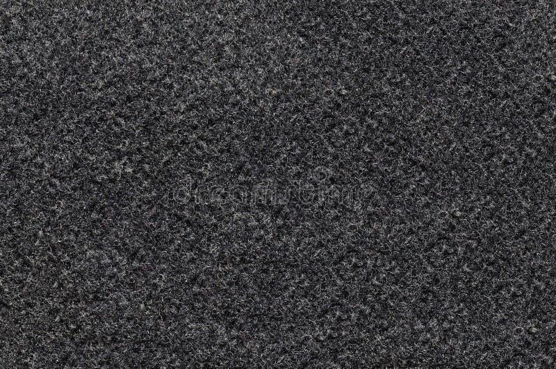 Μαύρο σκληρό νήμα σύστασης ινών στοκ εικόνα με δικαίωμα ελεύθερης χρήσης