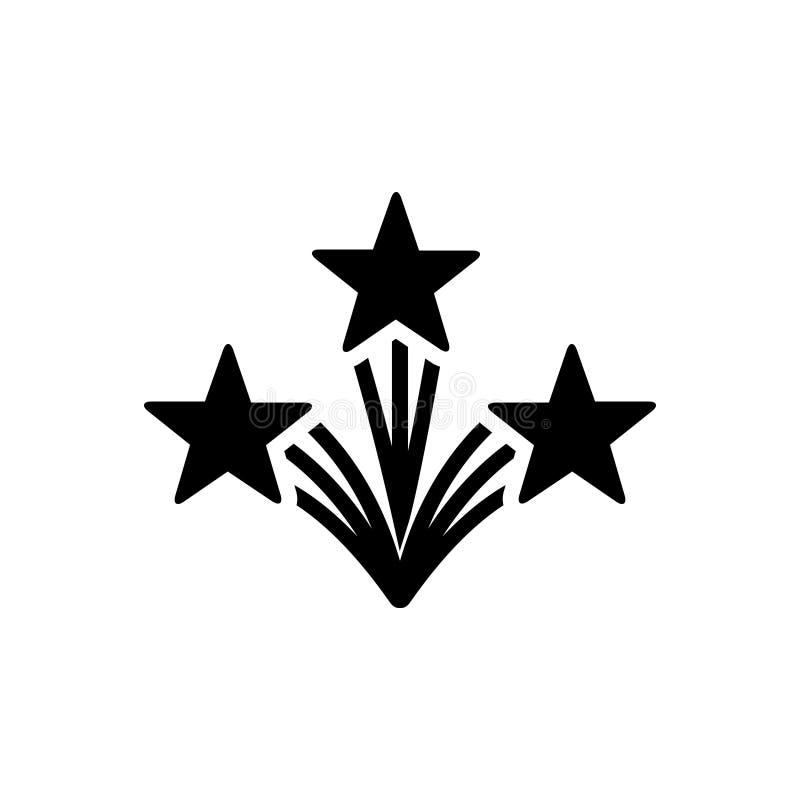 Μαύρο στερεό εικονίδιο για φρέσκος, σύγχρονος και φρέσκος ελεύθερη απεικόνιση δικαιώματος