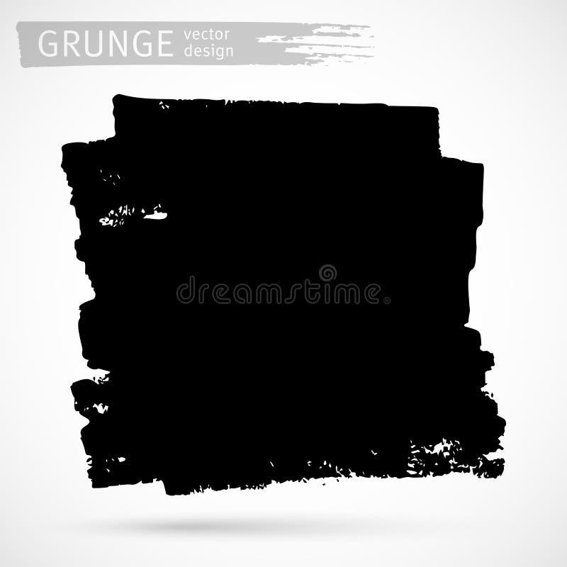 Μαύρο στοιχείο σχεδίου μελανιού ελεύθερη απεικόνιση δικαιώματος