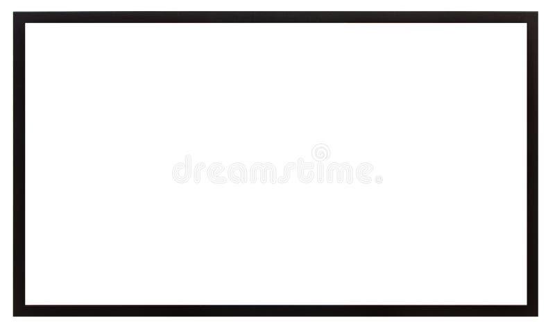 Μαύρο τετραγωνικό πλαίσιο στοκ φωτογραφία