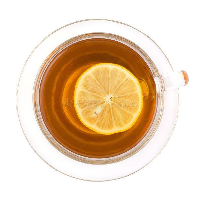 Μαύρο τσάι λεμονιών στοκ φωτογραφία με δικαίωμα ελεύθερης χρήσης