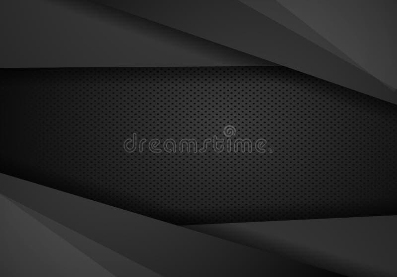 Μαύρο υπόβαθρο βελών τεχνολογίας αντίθεσης Διανυσματικό εταιρικό σχέδιο απεικόνισης απεικόνιση αποθεμάτων