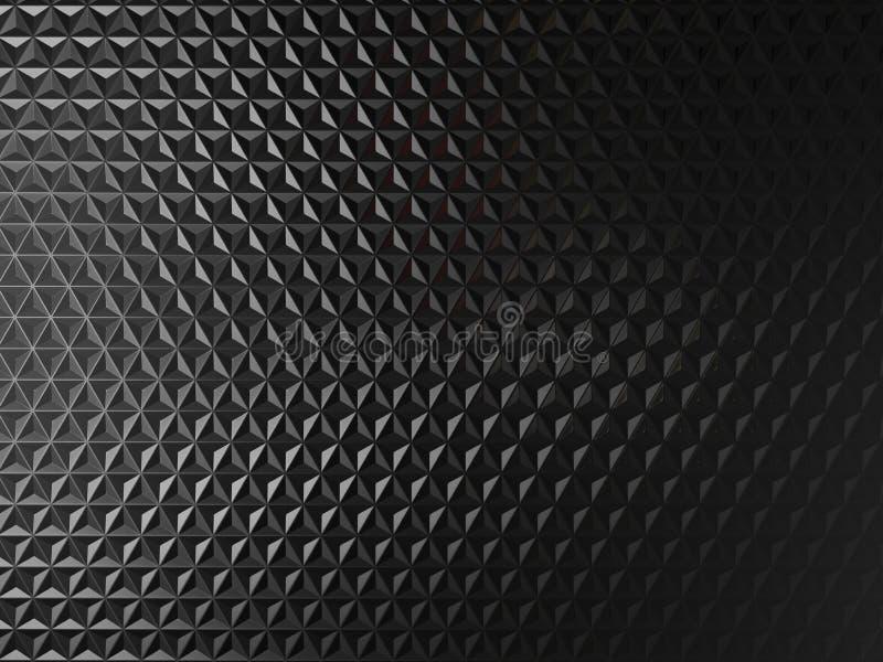 Μαύρο υπόβαθρο μετάλλων απεικόνιση αποθεμάτων