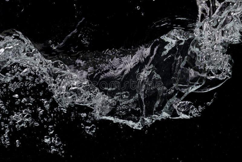 Μαύρο υπόβαθρο νερού στοκ φωτογραφίες με δικαίωμα ελεύθερης χρήσης