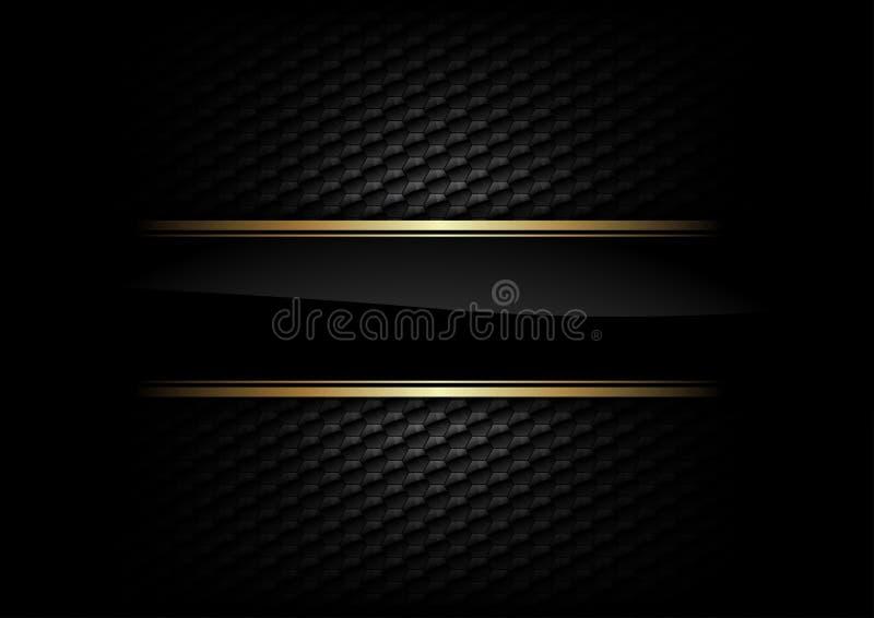 Μαύρο υπόβαθρο διανυσματική απεικόνιση