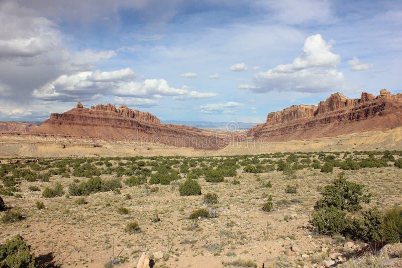 Μαύρο φαράγγι Utah δράκων στοκ εικόνα
