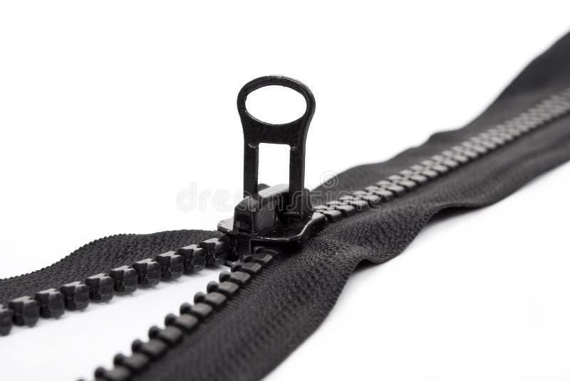 μαύρο φερμουάρ στοκ φωτογραφία με δικαίωμα ελεύθερης χρήσης