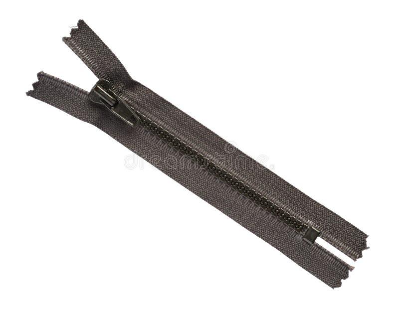 μαύρο φερμουάρ στοκ εικόνα με δικαίωμα ελεύθερης χρήσης