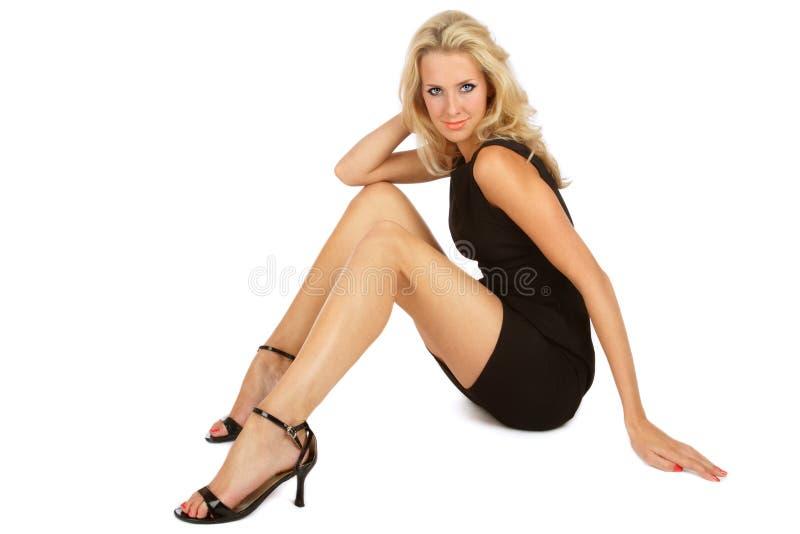μαύρο φόρεμα μικρό στοκ φωτογραφία