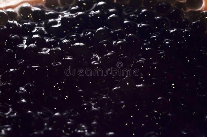 μαύρο χαβιάρι στοκ φωτογραφίες