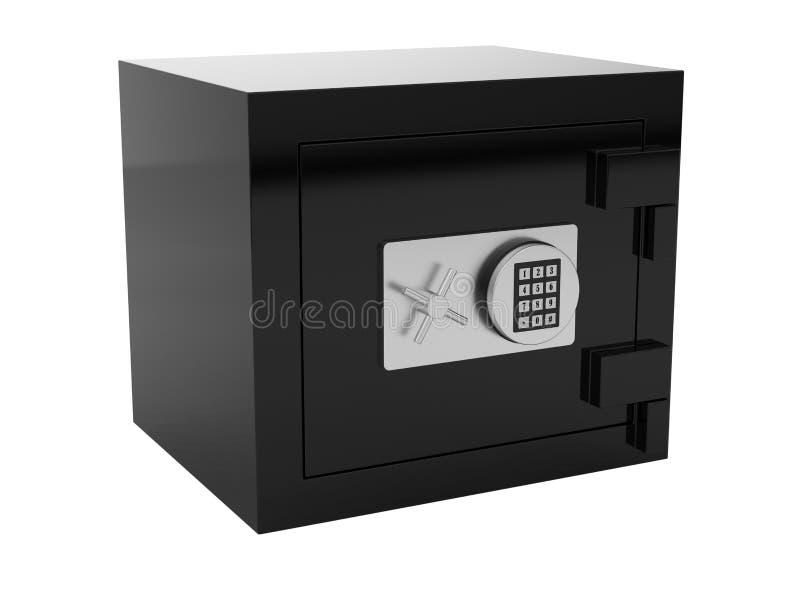 μαύρο χρηματοκιβώτιο ελεύθερη απεικόνιση δικαιώματος