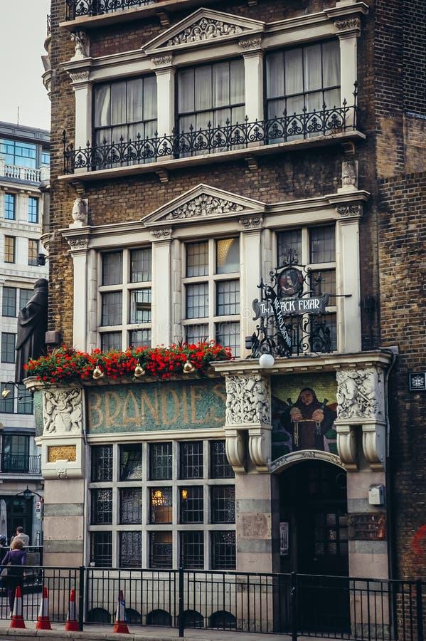 Μαύρο Friar μπαρ στο Λονδίνο στοκ φωτογραφίες