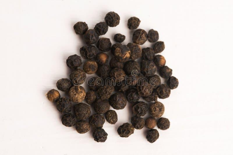 Μαύρο peppercorn στοκ φωτογραφίες με δικαίωμα ελεύθερης χρήσης