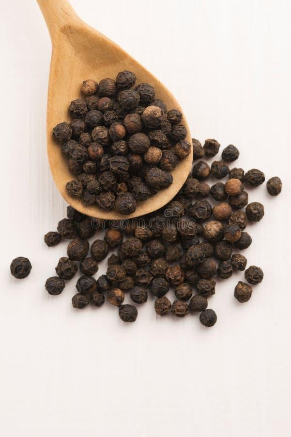 Μαύρο peppercorn στοκ εικόνες