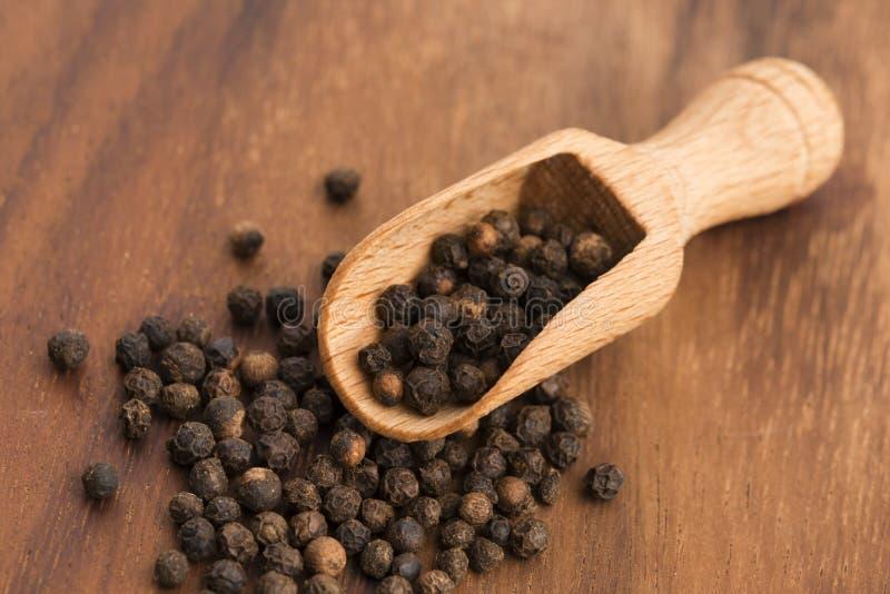 Μαύρο peppercorn στοκ εικόνα με δικαίωμα ελεύθερης χρήσης
