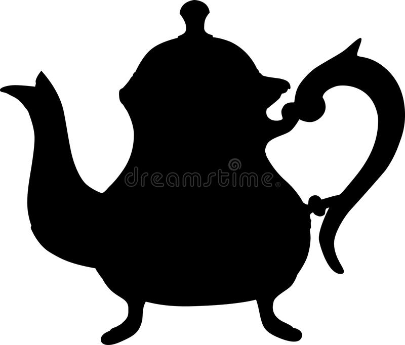 Download μαύρο teapot διανυσματική απεικόνιση. εικονογραφία από μαύρα - 22794564