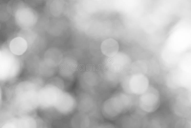 Μαλακό γκρίζο θολωμένο bokeh υπόβαθρο στοκ εικόνα