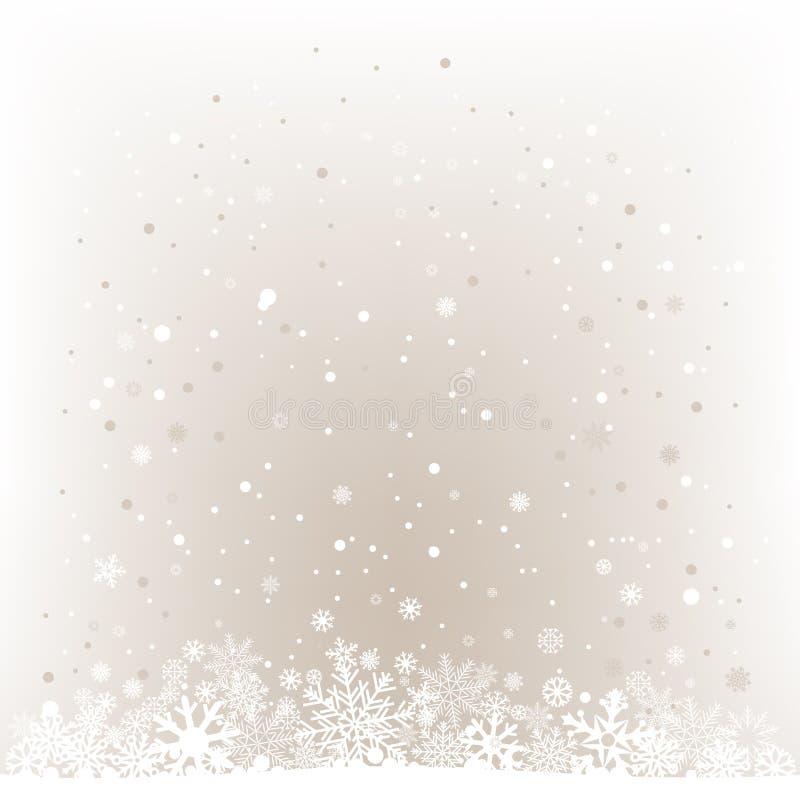 Μαλακό ελαφρύ υπόβαθρο πλέγματος χιονιού ελεύθερη απεικόνιση δικαιώματος