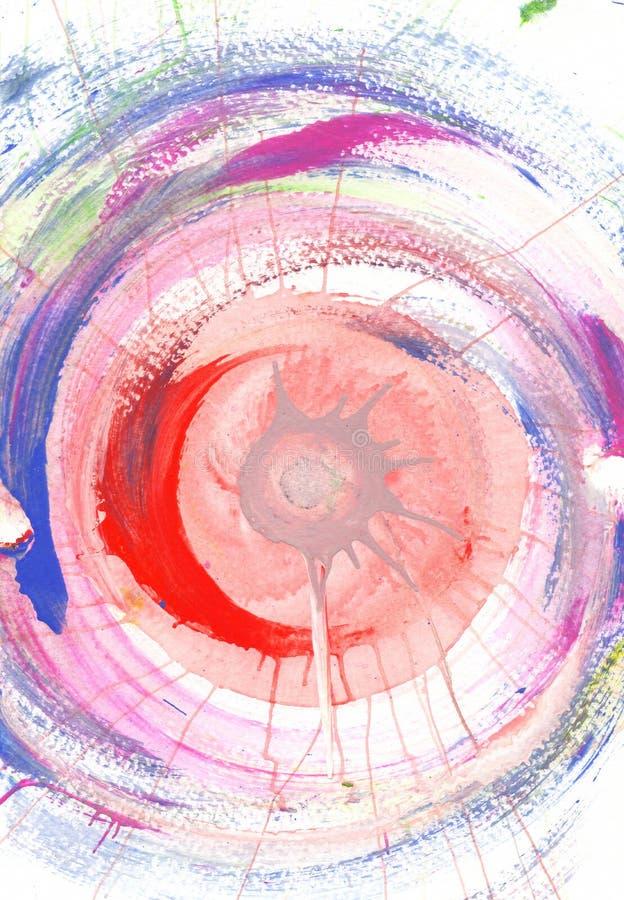 Μαλακό υπόβαθρο τέχνης κρητιδογραφιών αφηρημένο ελεύθερη απεικόνιση δικαιώματος