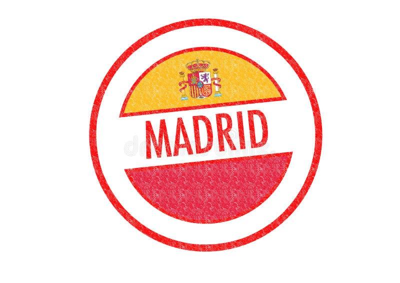 Μαδρίτη διανυσματική απεικόνιση