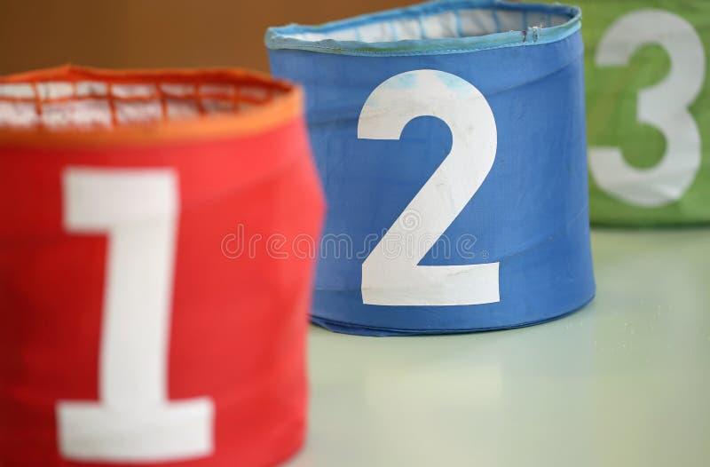 μεγάλα βάζα για τα παιχνίδια με τους αριθμούς στοκ εικόνα με δικαίωμα ελεύθερης χρήσης