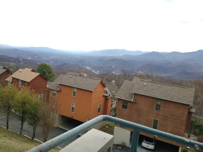 Μεγάλα βουνά Gatlinburg TN Smokey στοκ φωτογραφία με δικαίωμα ελεύθερης χρήσης