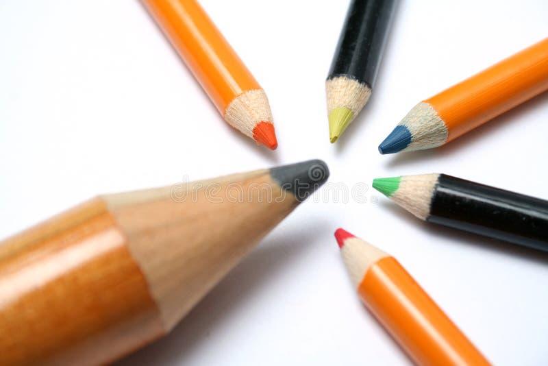 Download μεγάλα μολύβια μολυβιών &ch Στοκ Εικόνα - εικόνα από δημιουργικός, μπαμπάς: 1546935