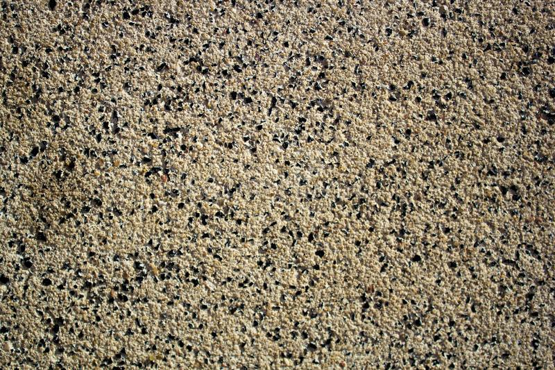 Μεγάλα μόρια της λεπτής βρώμικης άμμου, αμμοχάλικο, γη στοκ φωτογραφία με δικαίωμα ελεύθερης χρήσης