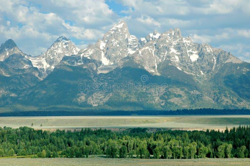 μεγάλα tetons Wyoming στοκ εικόνες