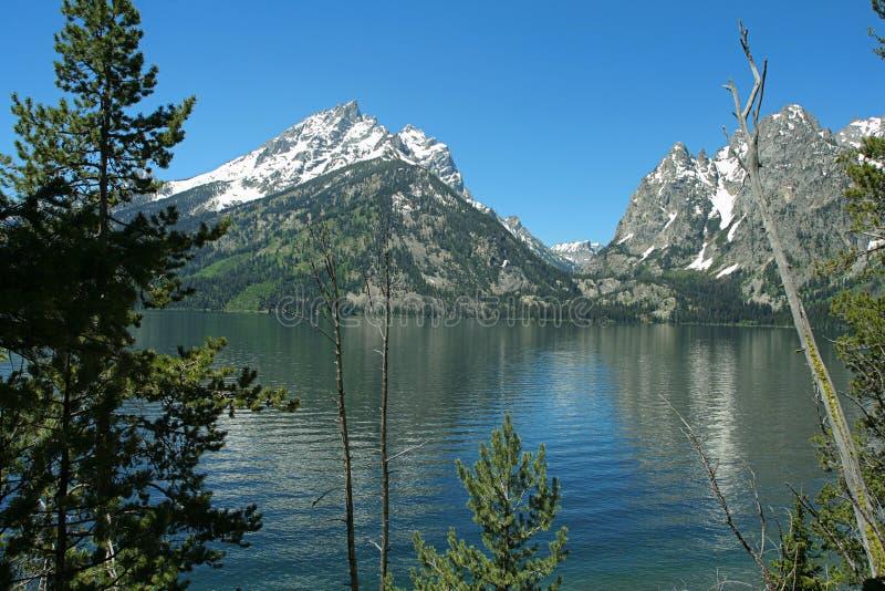 μεγάλα tetons Wyoming στοκ φωτογραφίες
