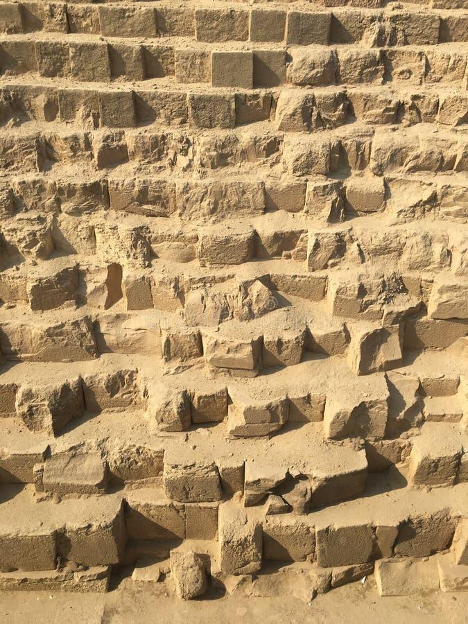 μεγάλες πυραμίδες giza στοκ εικόνα με δικαίωμα ελεύθερης χρήσης