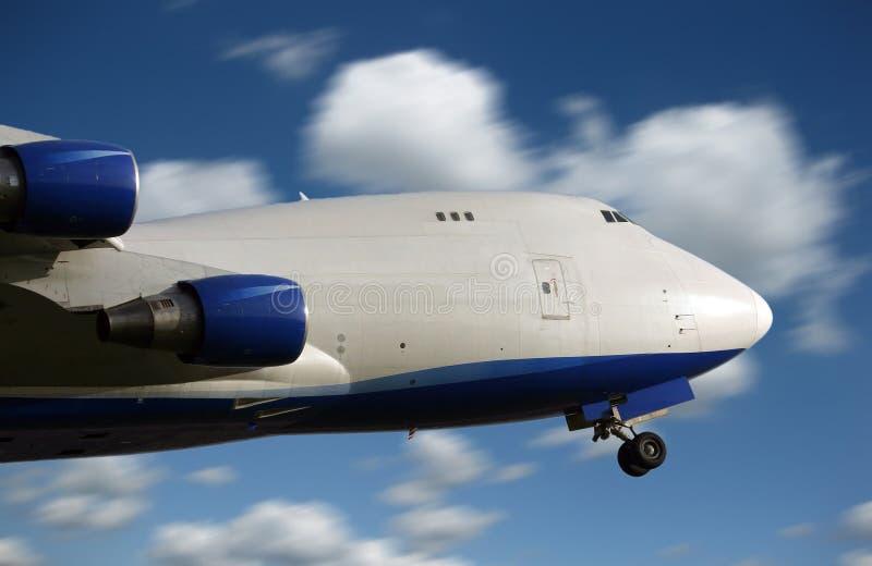 Μεγάλη απογείωση αεροπλάνων στοκ εικόνες με δικαίωμα ελεύθερης χρήσης