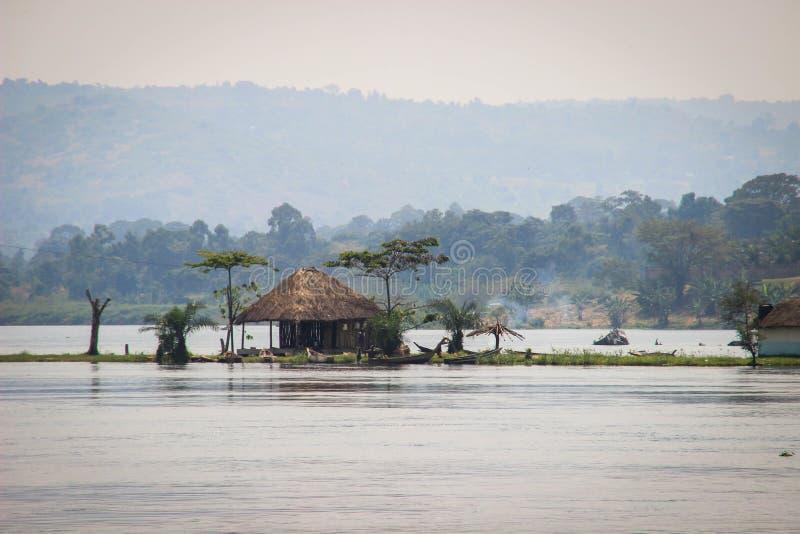 Μεγάλη αφρικανική ρωγμή στην Ουγκάντα στοκ εικόνα