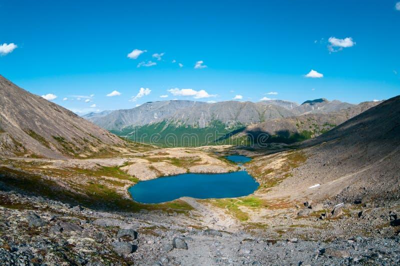 μεγάλη βόρεια Ρωσία βουνώ&nu στοκ εικόνες με δικαίωμα ελεύθερης χρήσης