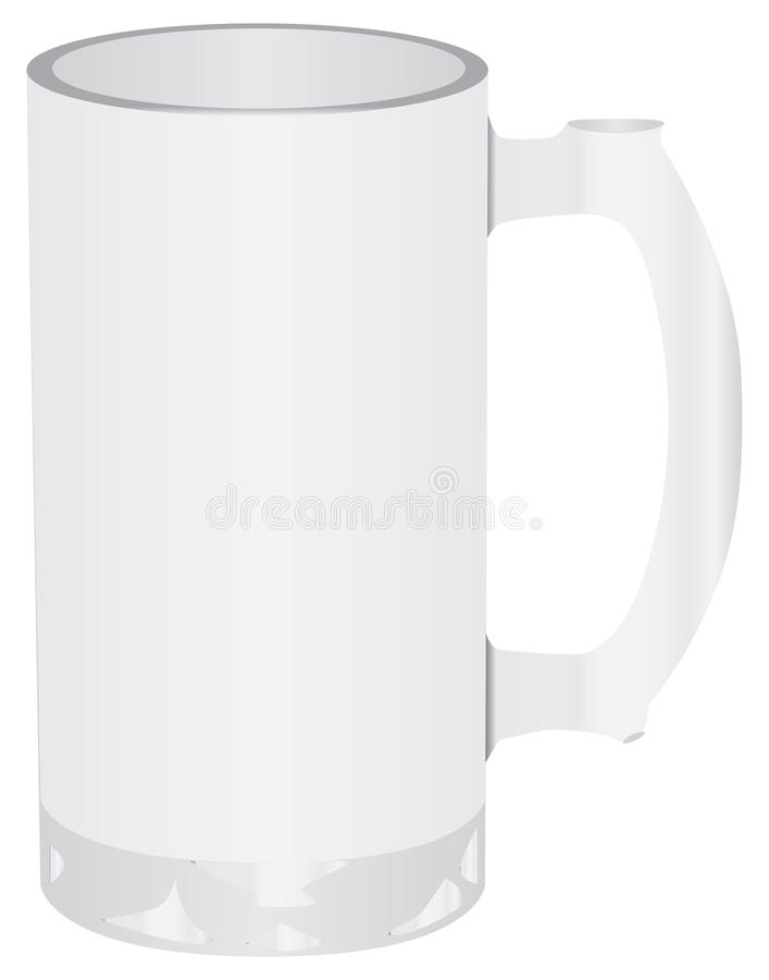 Μεγάλη κούπα μπύρας απεικόνιση αποθεμάτων