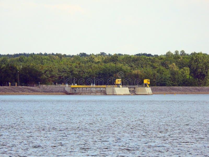 Μεγάλη λίμνη Turawa στοκ φωτογραφία με δικαίωμα ελεύθερης χρήσης