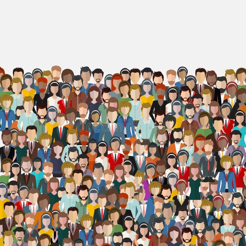 Μεγάλη ομάδα υποβάθρου επιχειρηματιών Επιχειρηματίες, έννοια ομαδικής εργασίας μακρο εργασία ανθρώπων γυαλιών εστίασης στοκ εικόνες