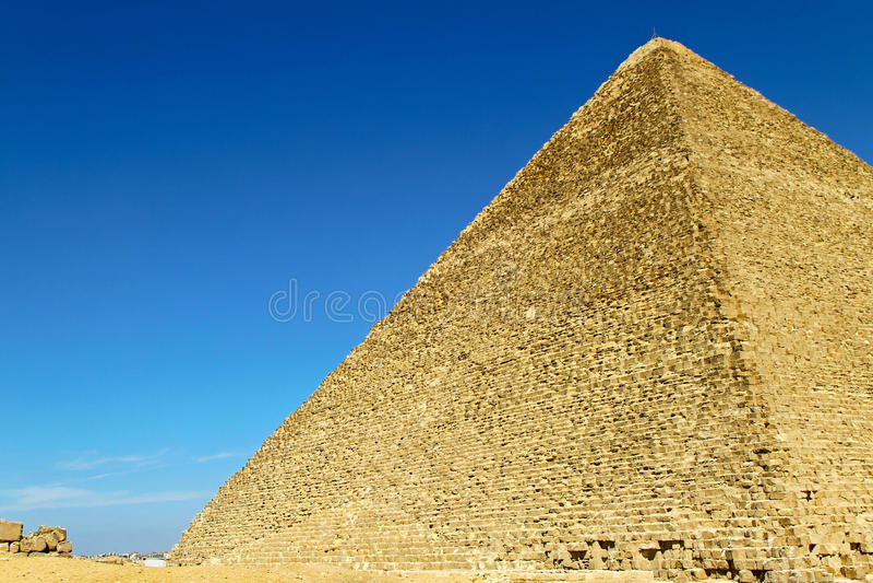 μεγάλη πλευρά pyramide στοκ φωτογραφία με δικαίωμα ελεύθερης χρήσης