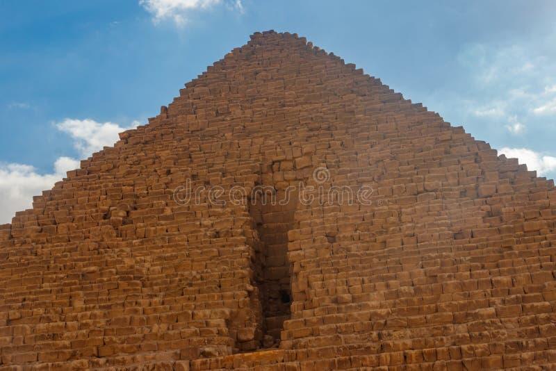 Μεγάλη πυραμίδα Giza γνωστού επίσης ως πυραμίδα Khufu ή πυραμίδα Cheops στοκ εικόνες