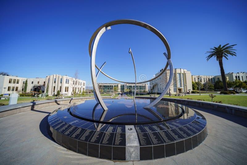 Μεγάλη σφαίρα σφαιρών στο Loma Linda πανεπιστήμιο στοκ φωτογραφίες
