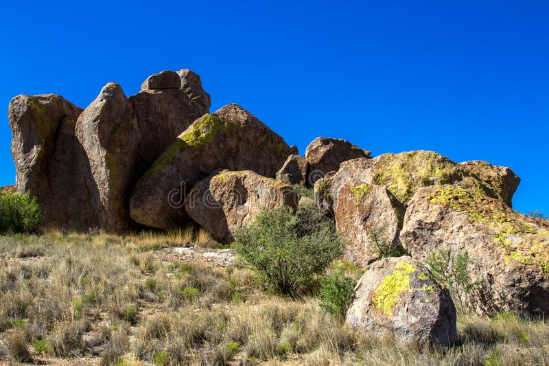 Μεγάλοι βράχοι στην πόλη του κρατικού πάρκου βράχων στοκ φωτογραφίες με δικαίωμα ελεύθερης χρήσης
