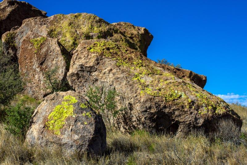 Μεγάλοι βράχοι στην πόλη του κρατικού πάρκου βράχων στοκ εικόνα