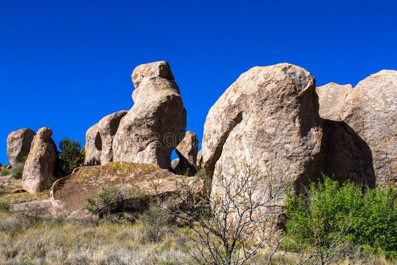 Μεγάλοι βράχοι στην πόλη του κρατικού πάρκου βράχων στοκ φωτογραφίες