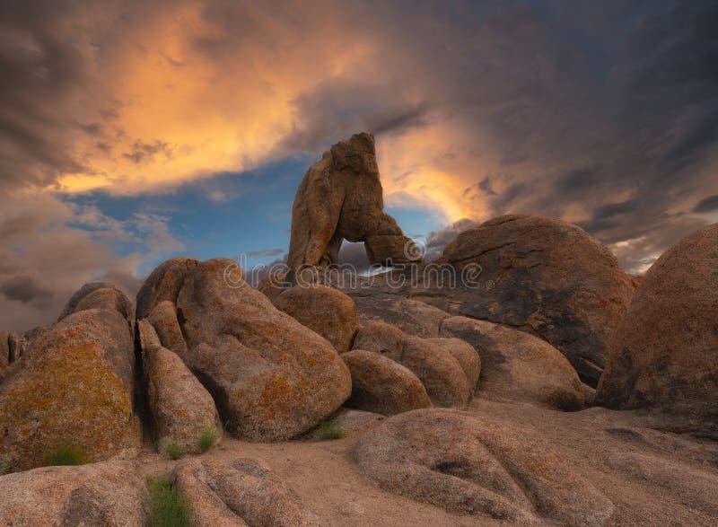 Μεγάλοι λίθοι και βράχος αψίδων μποτών στους λόφους της Αλαμπάμα στοκ φωτογραφίες με δικαίωμα ελεύθερης χρήσης