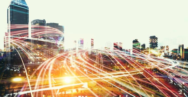 Μεγάλοι ύπνοι πόλεων ποτέ στοκ φωτογραφία με δικαίωμα ελεύθερης χρήσης