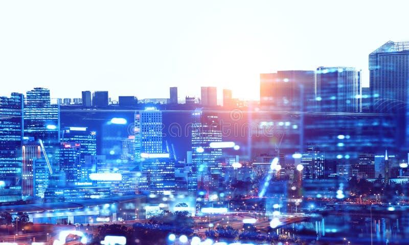 Μεγάλοι ύπνοι πόλεων ποτέ στοκ εικόνες