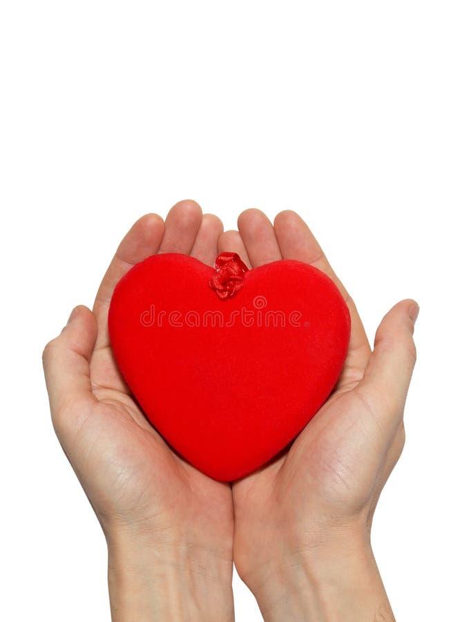 μεγάλος βαλεντίνος καρδιών στοκ φωτογραφία
